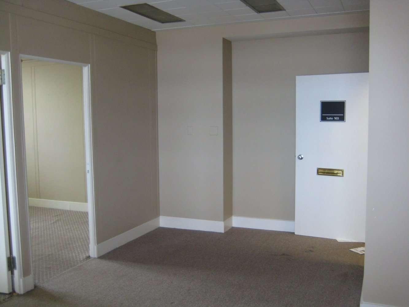 Reception area- before, Organizing Associates, Inc.