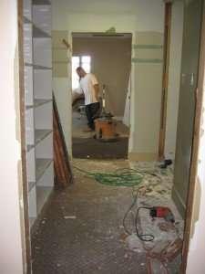 Storage Room demolition, Organizing Associates, Inc.